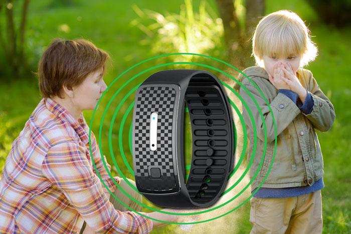 ecopest watch repellente portatile