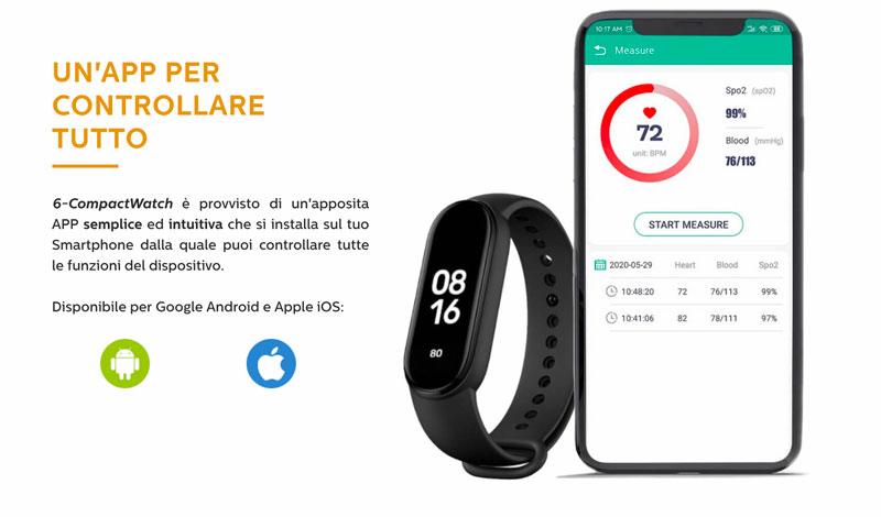 6 compact watch vantaggi